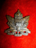 211th Battalion CEF Alberta Americans Officer's Collar Badge