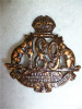 189th Battalion (Frazierville, Quebec) Cap Badge, Caron Freres, 1916
