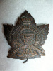 158th Battalion (Vancouver, British Columbia) Cap Badge  Copper,  O.B. Allan maker