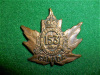 153rd Battalion (Wellington County) Collar Badge, Ellis 1916 Maker Marks