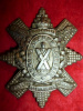 13th Battalion (Black Watch of Canada, Montreal) White Metal Cap Badge
