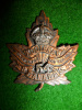 54th Battalion (Kootenay, B.C.) Officer's Cap Badge, Jacoby Maker, Type C