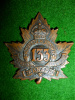 133rd Battalion (Simcoe) Cap Badge