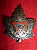 39-12a - Canadian Military YMCA - PX Design Officer's Cap Badge