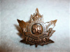 59th Battalion (Brockville, Ontario) Voided Collar Badge