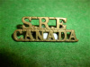 23-1 - No. 1 Section Skilled Railway Employees Shoulder Title, Small - Gaunt