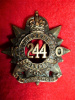 244th Battalion (Montreal, Kitchener's Own) Cap Badge