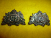 179th Battalion (Winnipeg Highlanders) Collar Badge Pair