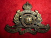 12-66, 66th Battery (Montreal, Quebec) Canadian Field Artillery Cap Badge