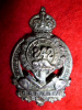 242nd Battalion (Forestry) Officer's Cap Badge