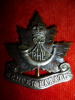 M28 - Royal Hamilton Light Infantry Officer's KC Cap Badge
