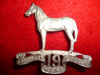 C58 19th Armoured Car Regiment (Edmonton Fusiliers) 1946-49, Officer's Silver Cap Badge Scully Maker
