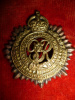 S6a - Royal Canadian Army Service Corps Officer's Brass & Copper Cap Badge, Scully