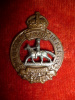 C49, The Manitoba Horse Left Collar Badge
