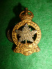 M90 - Royal Montreal Regiment Officer's S & Gilt Collar Badge