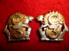 M20 - The Royal Regiment of Canada, Officer's Collar Badge Pair