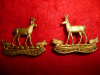 M141a - The Weyburn Regiment Collar Badge Pair