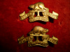 M74, The Durham Regiment Collar Badges