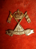 C28 - 16th/22nd  Saskatchewan Light Horse Collar Badge - Canada