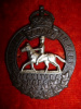 C49 - The Manitoba Horse Cap Badge