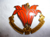 M140 - The Assiniboia Regiment (Saskatchewan) Officer's Enamelled Cap Badge, Gaunt
