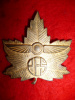 Canadian Elementary Flying School (EFS) Cap Badge, Maker Marked