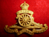 S2 - Royal Canadian Artillery Officer's Gilt Cap Badge, Scully Maker