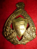 M43 - Essex Scottish Cap Badge, Brass issue