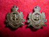 M50 - The Lambton Regiment of Canada Collar Badge Pair