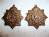 M78 - Sault Ste.Marie Regiment Collar Badge Pair