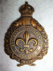 M132 - Le Regiment De Beauce 1921-1936 Cap Badge