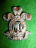 M30 - Princess of Wales's Own Regiment Officer's Silver Cap Badge