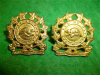 M36 - Les Francs Tireurs du Saguenay Collar Badge Pair