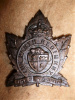 M51 - The Perth Regiment KC Cap Badge