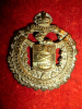 C2 - Lord Strathcona's Horse OR's Brass Cap Badge