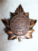 S36 - Canadian Women's Service Force Cap Badge