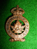 M9 - Les Chasseurs Canadiens Collar Badge