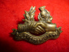 M114 - Colchester & Hants Regiment Collar Badge