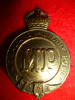New Zealand Military Police Cap Badge, WW1