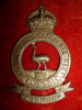14th Light Horse, Queensland Mounted Infantry Cap Badge, 1900-1912
