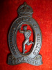 Australian Corps of Signals Bronzed KC Cap Badge