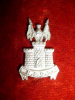 3rd Nizam's Own Golconda Lancers Regiment Small Cap Badge, Indian silver or white metal.