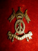 Hyderabad - 1st Imperial Service Lancers Regiment Cap Badge - Indian Army