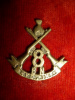 8th Battalion Hyderabad Infantry Cap Badge