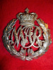 Natal Mounted Rifles Victorian OR's Helmet Plate