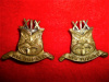 New Zealand - 19th Reinforcements Collar Badge Pair