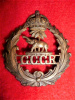 Gold Coast Government Railway Cap Badge