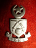 Tonk State Forces Head-dress / Cap Badge