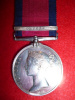 MILITARY GENERAL SERVICE MEDAL 1793-1814, (1) clasp, Orthes to 7th Hussars