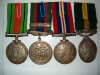 WWII Medal / Efficiency Medal Group, Black Watch of Canada